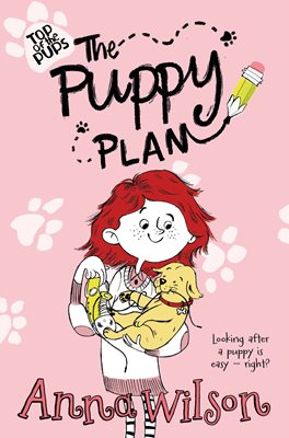 Book cover for The Puppy Plan